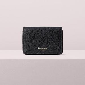 Kate Spade NWT Margaux Card Case Cardholder Black